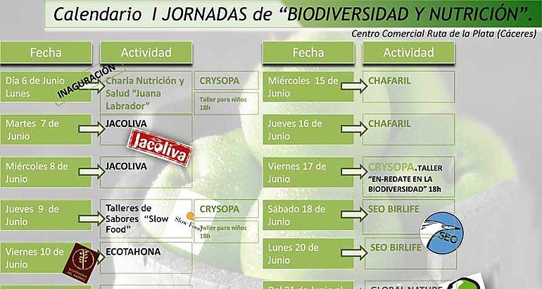 """Jornadas sobre Biodiversidad y alimentación saludable: """"Cuida el ..."""